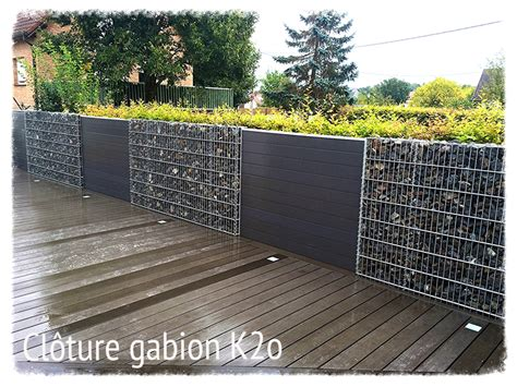 cloture en gabion cloture en gabion