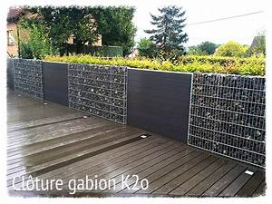 Mur De Cloture En Gabion : mur de cloture en gabion 5 le gabion kit optimized ~ Edinachiropracticcenter.com Idées de Décoration