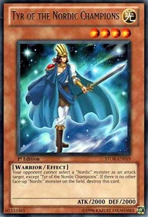 yugioh nordic deck 2011 pojo s yu gi oh card of the day