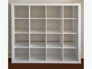 Ikea Kallax 4x4 : ikea white expedit 16 4x4 cube shelving storage unit bookcase not kallax in angel london ~ Frokenaadalensverden.com Haus und Dekorationen