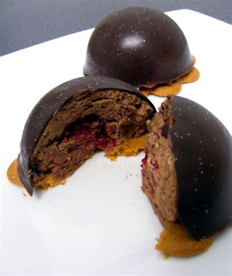 reve de gourmandises domes chocolat framboises