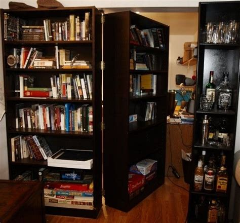 Moving Bookcase Door by Create A Secret Door With Moving Bookcases 27 Ways To