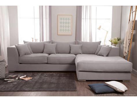 house pour canape d angle canapé d 39 angle en coton et avec grande méridienne