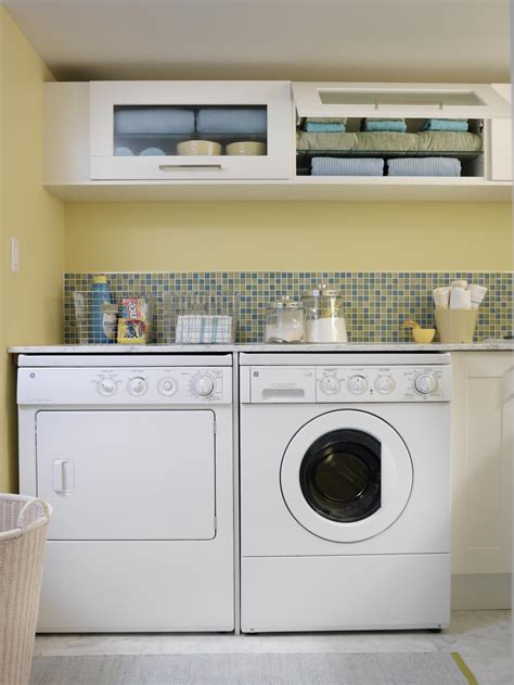 clever storage ideas   tiny laundry room hgtv