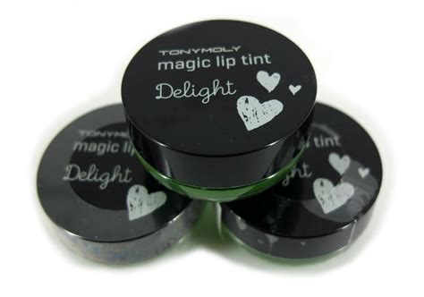 Harga Tony Moly Lip Tint review tony moly delight magic lip tint green apple