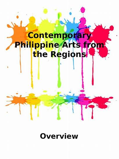 Contemporary Arts Philippines Ppt