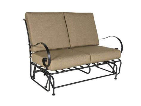 ow lee classico glider loveseat replacement cushions 955