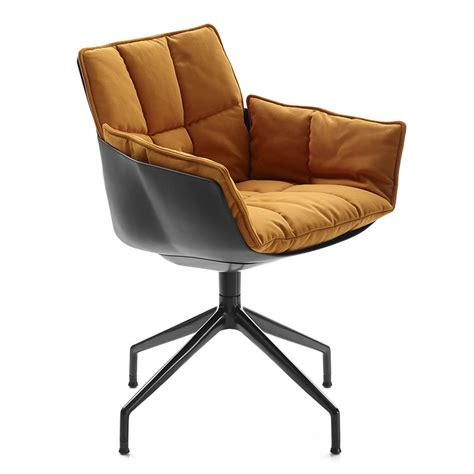 b b italia p4g husk 15 swivel small armchair