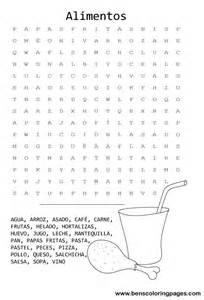 Spanish Word Search Printable