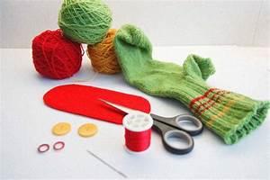 Aus Socken Basteln : anleitung handpuppe aus socken sockenmonster sockshype ~ Watch28wear.com Haus und Dekorationen