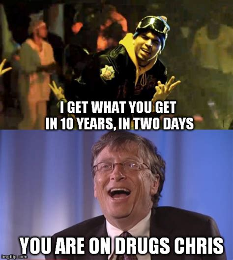Bill Gates Meme - bill gates vs chris brown imgflip
