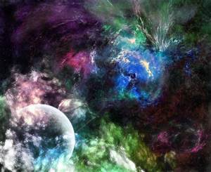 Colorful Galaxy Space Wallpaper - Pics about space