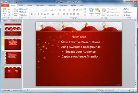 holiday season powerpoint templates