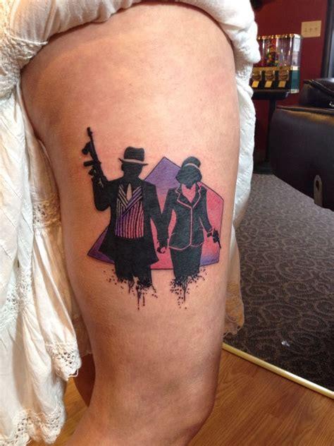 tattoo bonnie  clyde tattoos  drayton fraley