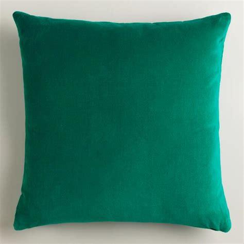 green throw pillows emerald green throw pillows world market
