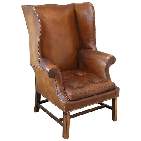 wingback chair leather wingback chair from the 1920s at 1stdibs