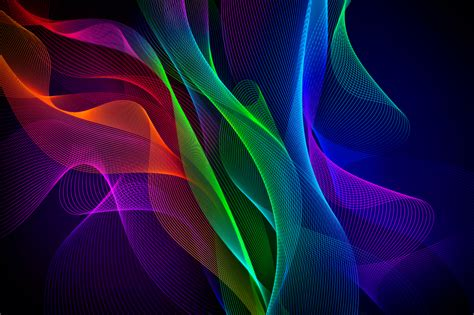 3d Wallpapers For Laptop Wallpaper Waves Colorful Razer Phone Stock Hd Abstract 12901