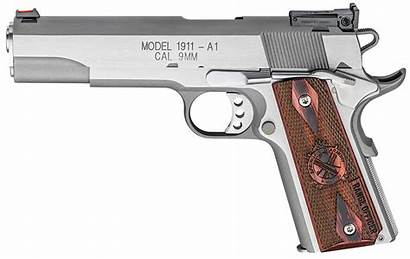 1911 A1 Springfield 9mm Officer Range Stainless