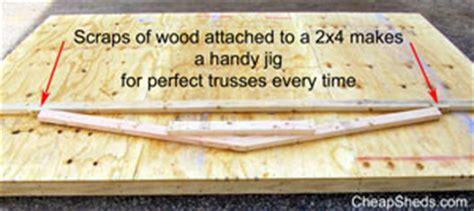 build shed trusses