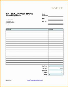 generic receipt template receipt template With generic invoice sheet