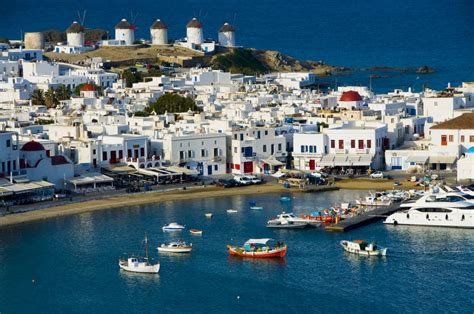 Mykonos Town The Gem Of The Island