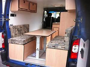 Amenagement Camion Camping Car : amenagement interieur de fourgon en camping car location auto clermont ~ Maxctalentgroup.com Avis de Voitures