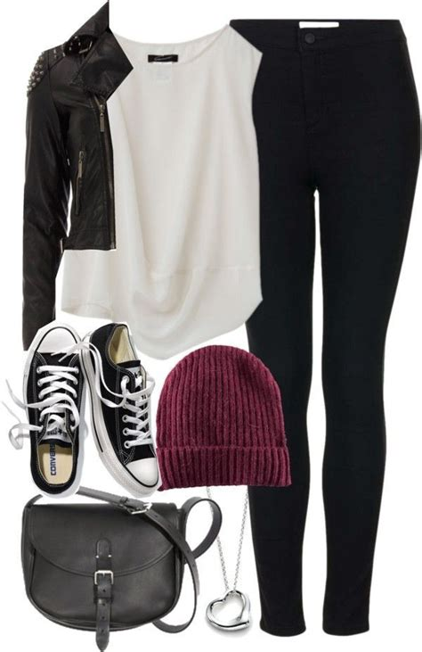 6 casual school outfits with leggings - myschooloutfits.com