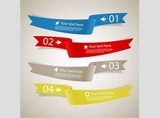 Photoshop ribbon banner brushes free vector download