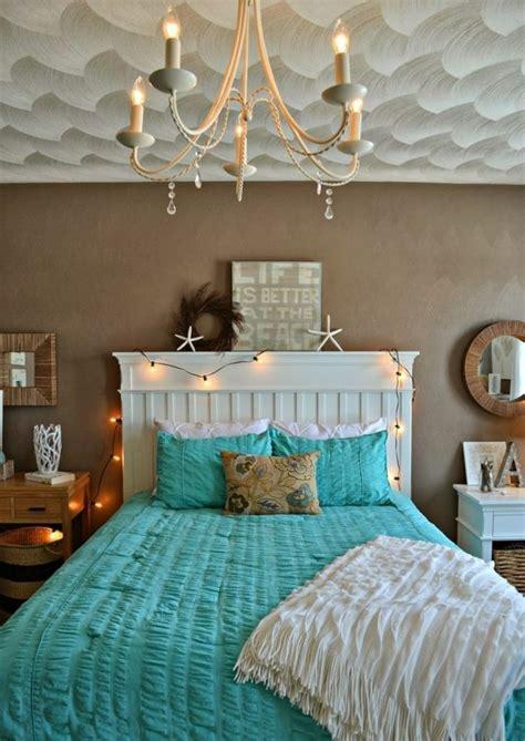 theme chambre adulte 1001 designs stupéfiants pour une chambre turquoise