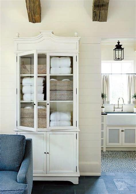 Farmhouse Bathrooms Farmhouse Friday 25 Best Ideas About Linen Cabinet On Linen