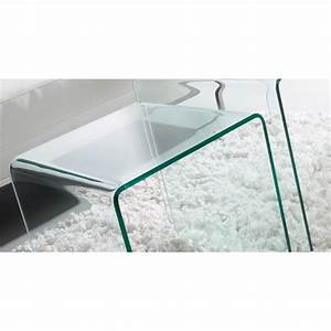 Placo 50x50 2 removable tempered glass coffee tables set for Coffee table with removable glass top