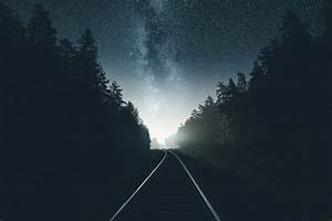 Photography, Railway, Night, Forest, Hd, Wallpapers, Desktop, And, Mobile, Images, U0026, Photos