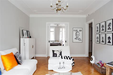 paredes grises muebles blancos suelo de madera comedor paredes grises muebles blancos