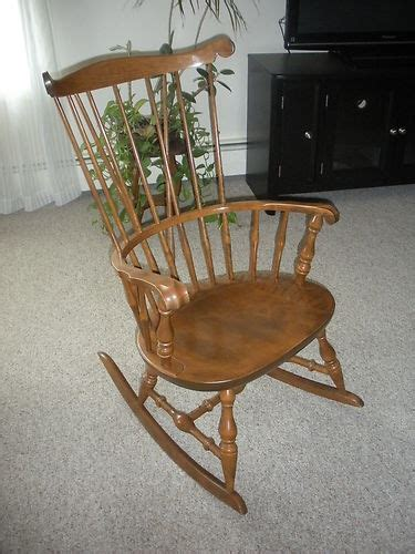 Nichols And Rocking Chair Value by Antique Nichols And Of Massachusetts Maple