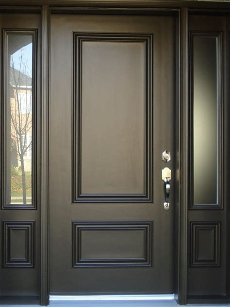 minimalist door design black color  home ideas