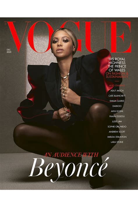 All Hail Beyonce with her Three British Vogue December ...