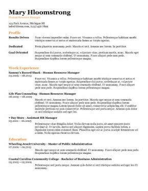 18612 my resume template free resume templates you ll want to in 2018