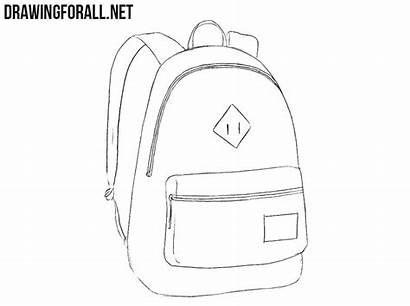 Drawing Backpack Draw Tutorial Drawingforall Step Stepan