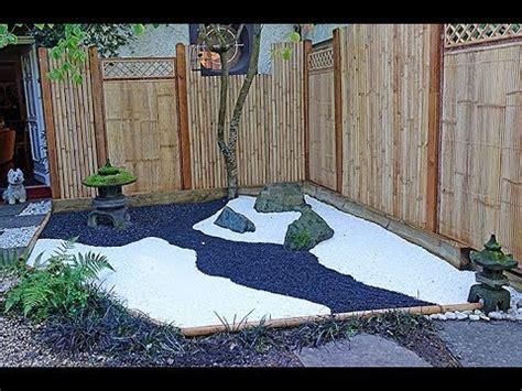 un mini jardin 192 la japonaise la r 201 alisation du d 201 cor
