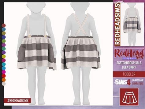 skbp lola skirt toddler  sims   simsdomination