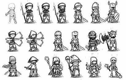 Character Sketch Rpg Classes Sketches Concepts Artstation
