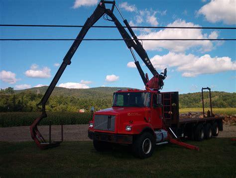 prentice ts33 drywall wallboard sheetrock crane truck