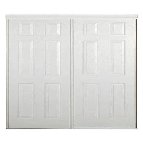 reliabilt 48 quot x 80 1 2 quot 6 panel interior sliding door