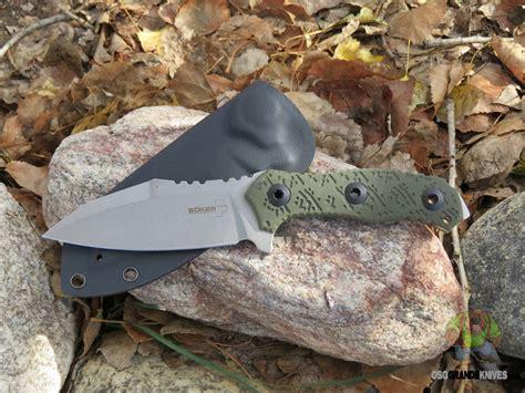 Boker Plus Colubris Fixed Blade Knife Stonewash Blade