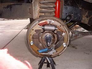 65 Rear Brake Self Adjuster Location