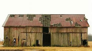 Old Beat Up Barn