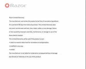 Razor Pocket Mod Electric Scooter Manual