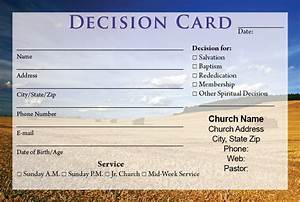 Visitor cards printing calvary publishing for Decision card template