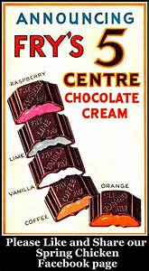 vintage Fry's Chocolate Cream sweets advert | Vintage Art ...
