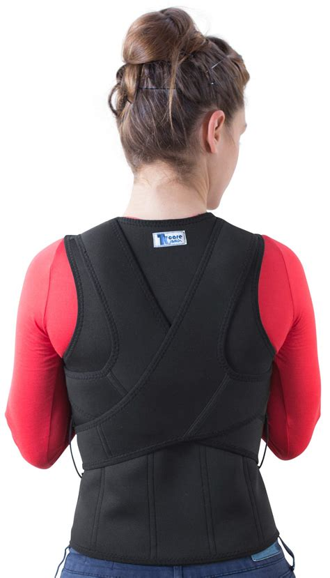 Amazon.com: ORTONYX Full Back Support Brace with Removable